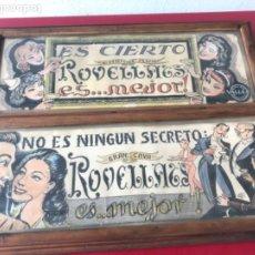 Arte: IMPORTANTES DIBUJOS DE CAVAS VALLES ROVIRA ROVELLATS 1920'S. PUBLICIDAD. Lote 191439162