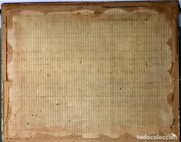 Arte: Joan Colom Agustí ( Arenys de Mar 1879-BCN 1969) dibujo con paisaje firmado y fechado - Foto 4 - 191461807