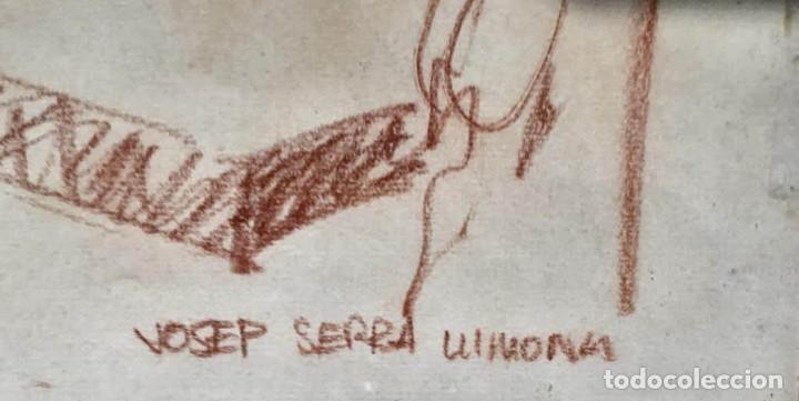 Arte: JOSEP SERRA LLIMONA (Ametlla del Vallés 1927) Dibujo firmado - Foto 4 - 191465936