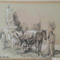 Arte: DIBUJO A PASTEL AL NICOLAI. Lote 191529755