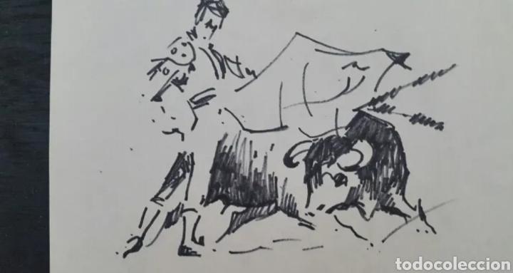 Arte: DIBUJO DE JOAN COLOMER CAMARASA (GIRONA 1968) TAUROMAQUIA - Foto 4 - 191531422