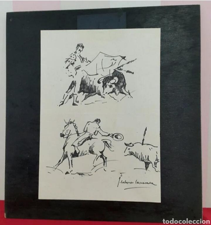 Arte: DIBUJO DE JOAN COLOMER CAMARASA (GIRONA 1968) TAUROMAQUIA - Foto 6 - 191531422