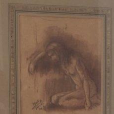 Arte: OBRA ORIGINAL DE MUÑOZ TAMIRO. Lote 191541687
