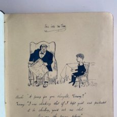 Arte: ÁLBUM CON DIBUJOS DEL MISMO AUTOR JOSEPH MITCHELL , LONDRES , 1913 .. Lote 191605822