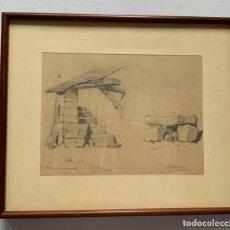 Arte: MAURICI VILOMARA VIRGILI * ESTUDIOS ARQUITECTONICO. Lote 191606361