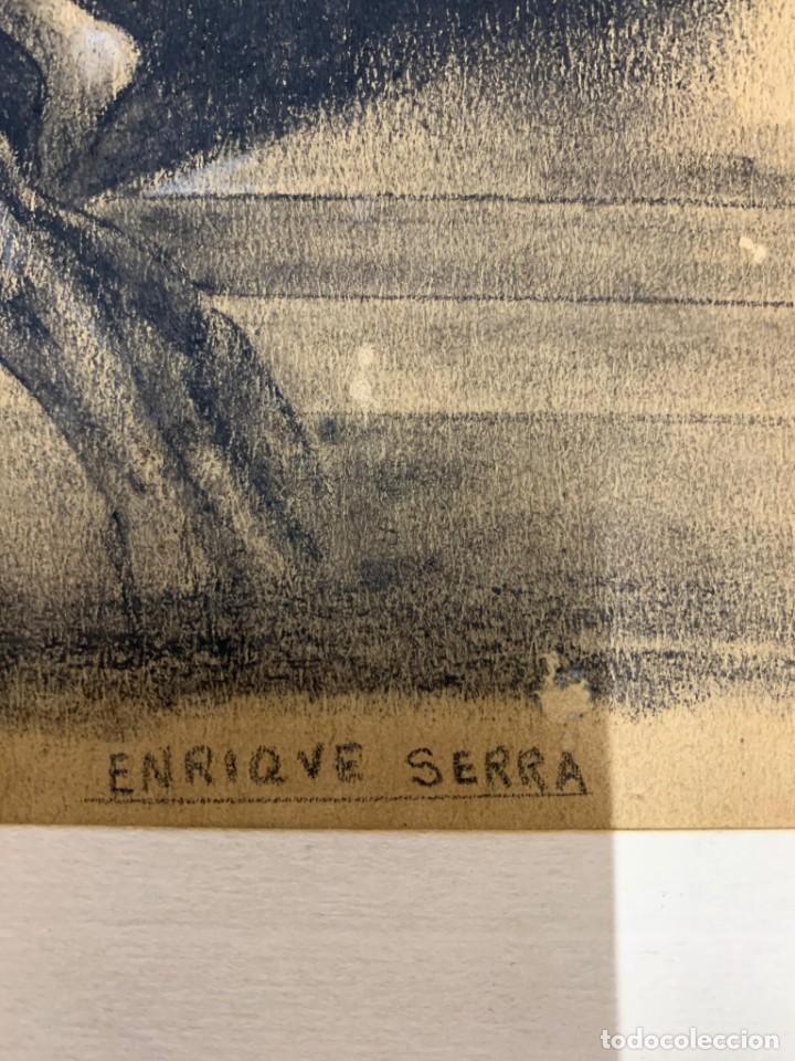 Arte: ENRIQUE SERRA Y AUQUE - ALEGORIA - Foto 2 - 191618946