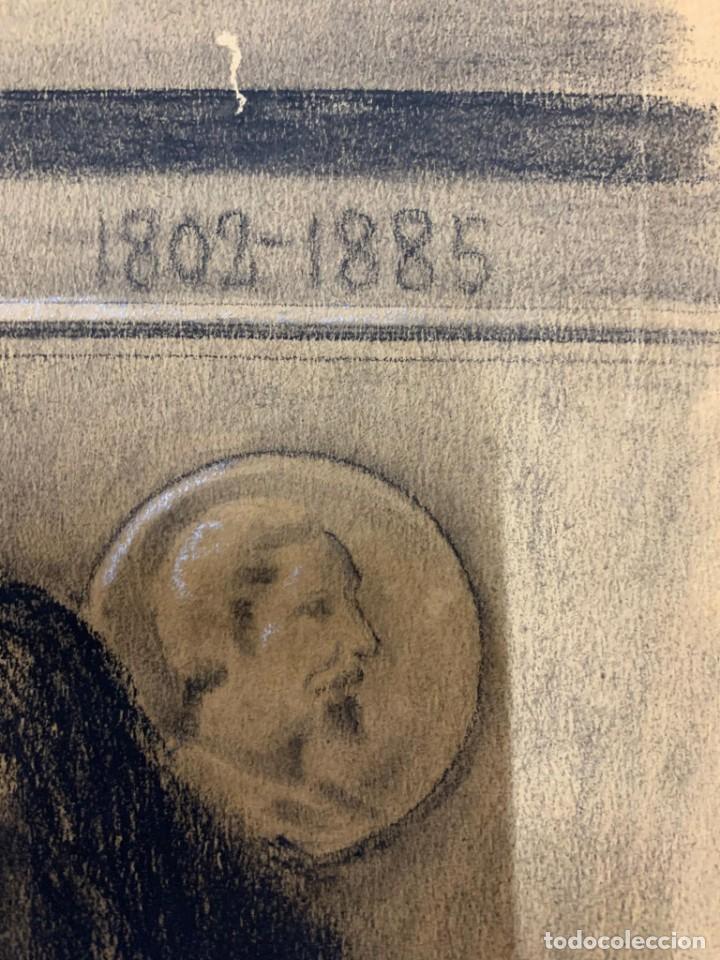Arte: ENRIQUE SERRA Y AUQUE - ALEGORIA - Foto 5 - 191618946