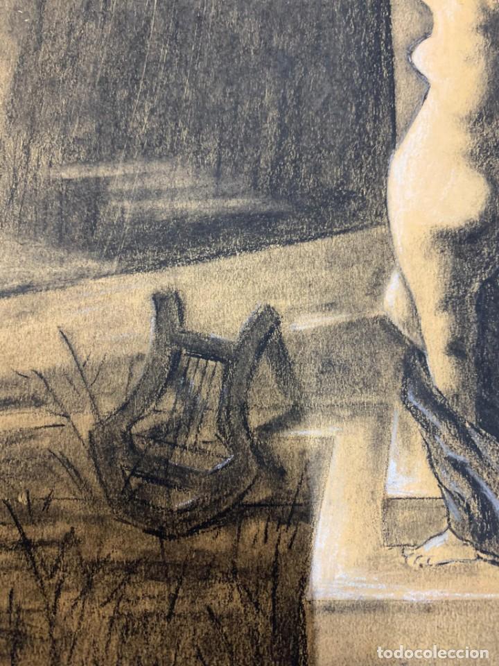 Arte: ENRIQUE SERRA Y AUQUE - ALEGORIA - Foto 6 - 191618946