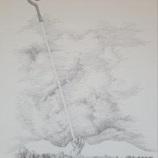 Arte: MIQUEL ROS I SABALLS (PALAFRUGELL, 1942-2016) - SURREALISMO.PLUMA Y TINTA CHINA.FIRMADO.. Lote 191540710