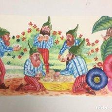 Arte: CARITG. OBRA ORIGINAL, REPRODUCIDA, MEDIDAS APROX 35X25. Lote 191825306
