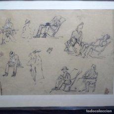 Arte: DIBUJOS DE GRAN CALIDAD ANÓNIMOS.. Lote 192019391