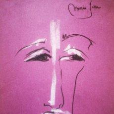 Arte: MORAN SERRA, FIRMADA 23X30CM. Lote 192159725