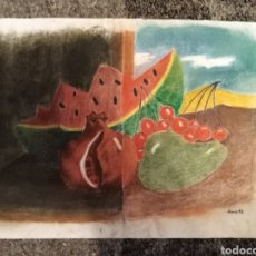 Arte: BODEGON TAMAÑO DIN A 3. Lote 192182965