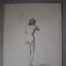 Arte: BOCETO ORIGINAL DE JOAQUÍN AGRASOT, ORIHUELA, 24-12-1836 VALENCIA 8-01-1914 PROCEDENCIA FAMILIAR. Lote 192620630