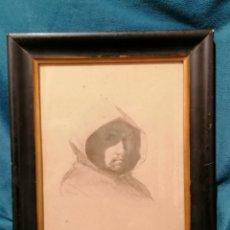 Arte: DIBUJO DE ROMÁN RIBERA I CIRERA. Lote 192622285