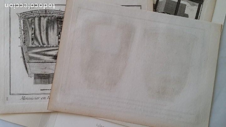Arte: Diderot y d Alembert 17 planchas de 1789, CARRUAJES, de la ENCYCLOPEDIE Francais - Foto 5 - 193354263