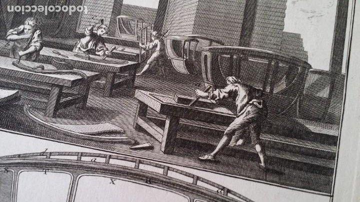Arte: Diderot y d Alembert 17 planchas de 1789, CARRUAJES, de la ENCYCLOPEDIE Francais - Foto 9 - 193354263