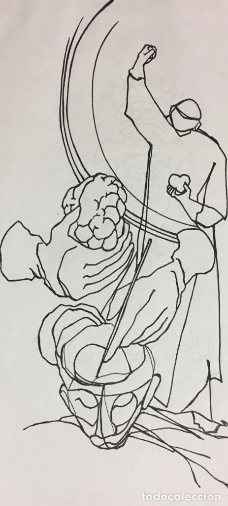 Arte: Ciro Salomon Oduber (Panamá 1921- España 2002). Medicina - Foto 2 - 193638993