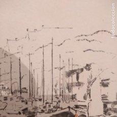 Arte: LOTE 2 DIBUJOS POR JOSE LUIS BARCELONA. Lote 194207628