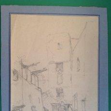 Arte: ILEGIBLE. UNA CALLE ARABE.. Lote 194213160
