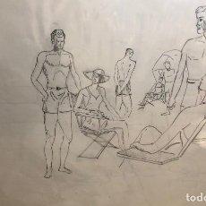 Arte: DIBUJOS ORIGINALES DEL AUTOR-AÑO 1965 A3 65-1(9,90€). Lote 194240385