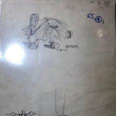 Arte: DIBUJOS ORIGINALES DEL AUTOR-AÑO 1965 A3 65-4(9,90€). Lote 194240502