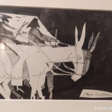 Arte: PEPE MOLLEDA. LA CODORNIZ. FIRMADO. Lote 194245397