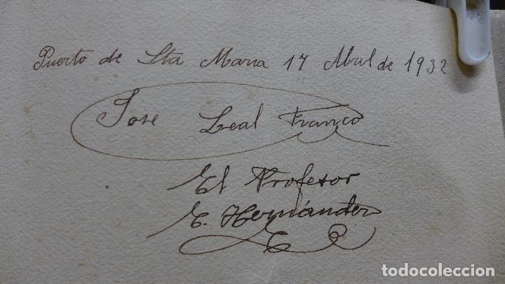 Arte: DIBUJO DE UN VAGON DE TREN FIRMADO POR JOSE LEAL FRANCO Y EL PROFESOR E. HERNANDEZ EL 17 ABRIL 1932 - Foto 4 - 194247253