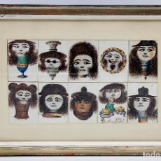 Arte: DIBUJO D.PAYO 1976. Lote 194302485