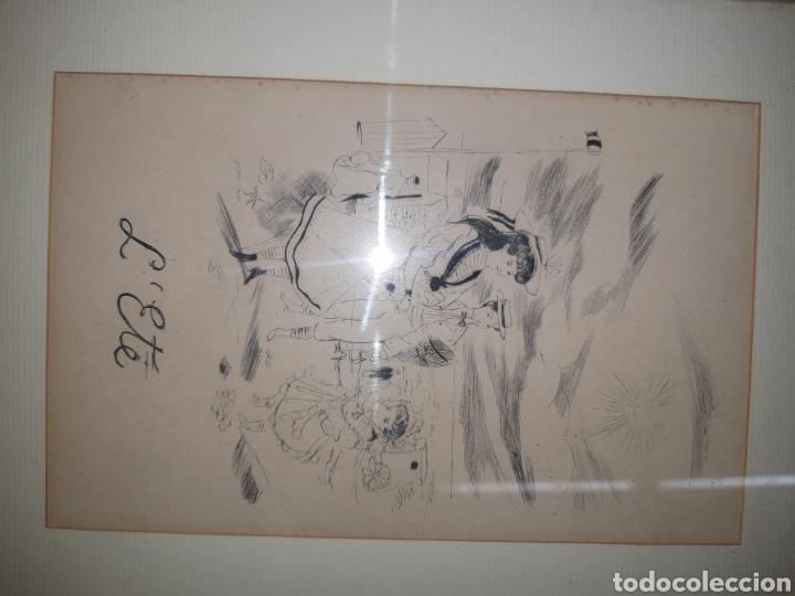 LITOGRAFIA L' ETE (Arte - Dibujos - Modernos siglo XIX)
