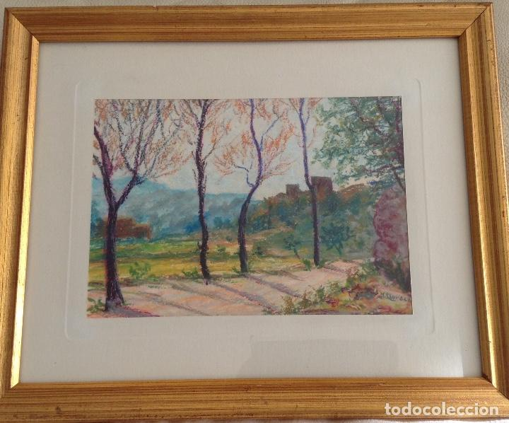 NARCÍS LLORACH OLIART (TERRASSA 1900) CERAS SOBRE PAPEL RELLINARS (Arte - Dibujos - Contemporáneos siglo XX)