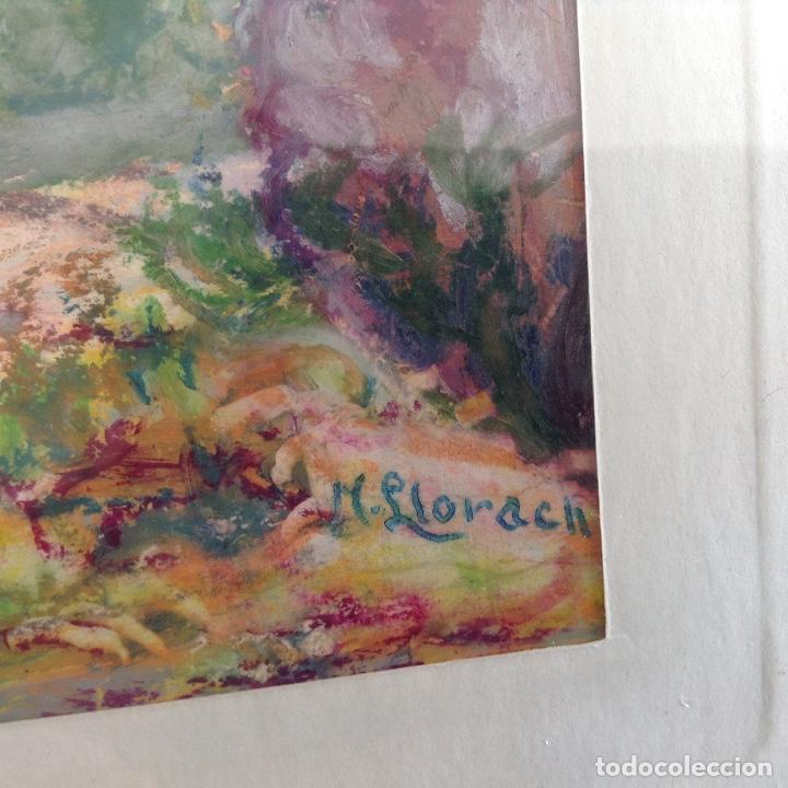 Arte: NARCÍS LLORACH OLIART (TERRASSA 1900) CERAS SOBRE PAPEL RELLINARS - Foto 2 - 194321342