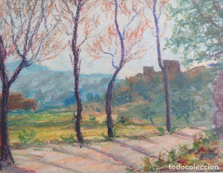 Arte: NARCÍS LLORACH OLIART (TERRASSA 1900) CERAS SOBRE PAPEL RELLINARS - Foto 3 - 194321342
