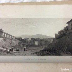 Arte: LOTE CON 4 DIBUJOS HECHOS POR EL SR. DEWINT, PUBLICADOS EN 1822, CON EL TEMA SICILIA. SALIDA A 1€. Lote 194535317