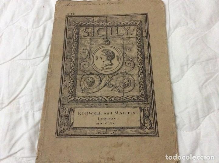 Arte: Lote con 4 dibujos hechos por el Sr. Dewint, publicados en 1822, con el tema SICILIA. Salida a 1€ - Foto 5 - 194535317