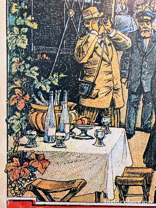 Arte: Cartel dibujo antiguo - Foto 8 - 194541393
