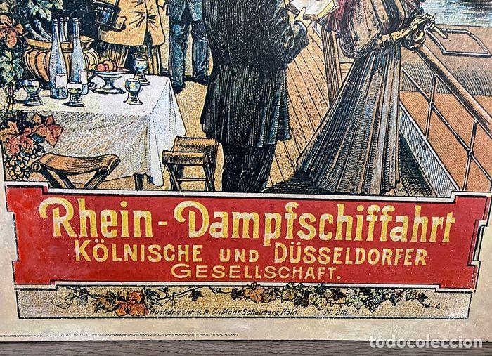 Arte: Cartel dibujo antiguo - Foto 13 - 194541393