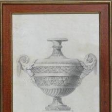 Arte: 4 DIBUJOS DE DE COPAS ANTI GARRIGAS 1.835. Lote 194559992