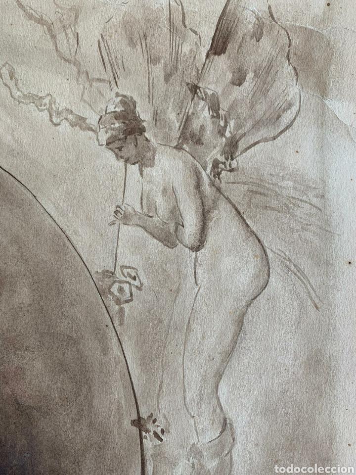 Arte: Retrato del pintor Mariano Fortuny - Foto 2 - 194783586