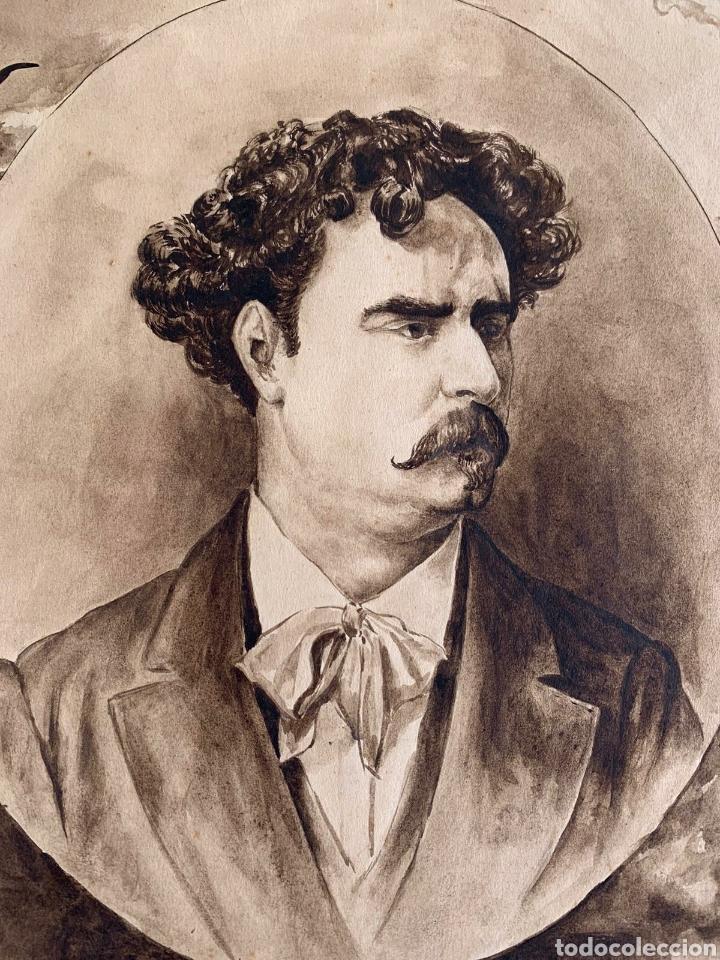 Arte: Retrato del pintor Mariano Fortuny - Foto 6 - 194783586