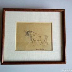 Arte: SEGUNDO MATILLA MARINA 1936. Lote 194972027