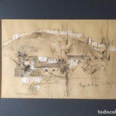 Arte: DOBLE DIBUJO ,VALENCIA SEGORBE ,SAGUNTO.. Lote 194981313