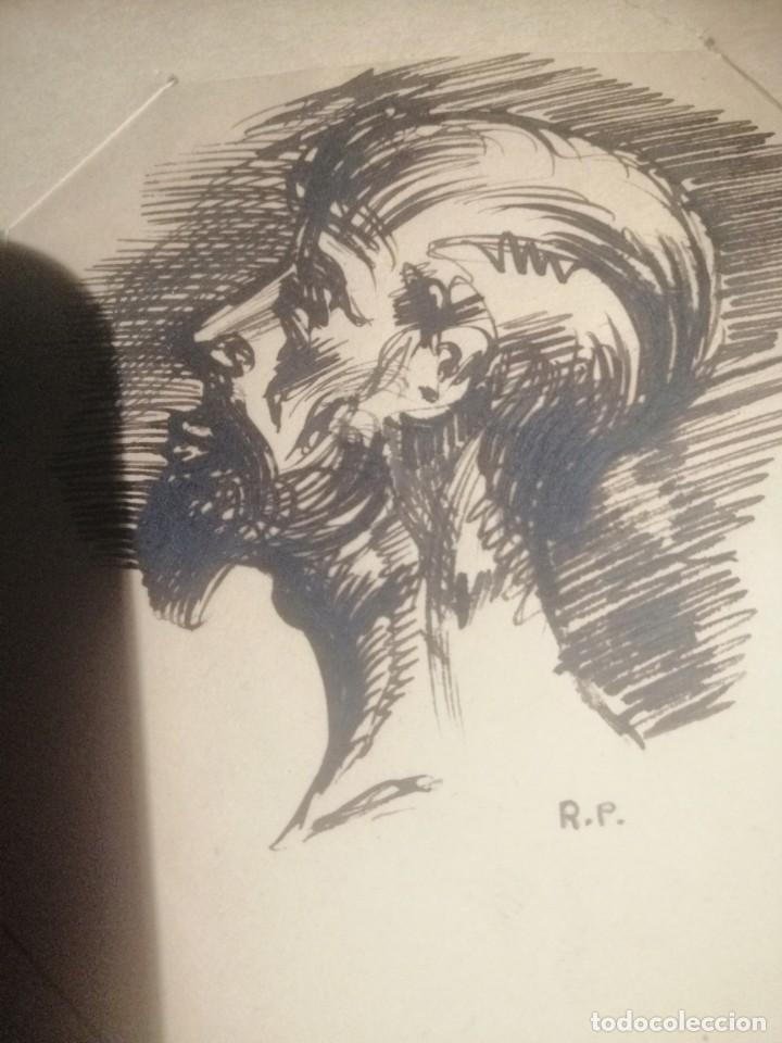 Arte: Coleccion 87 piezas del artista R.P y otras de otros pintores - Foto 4 - 195001520