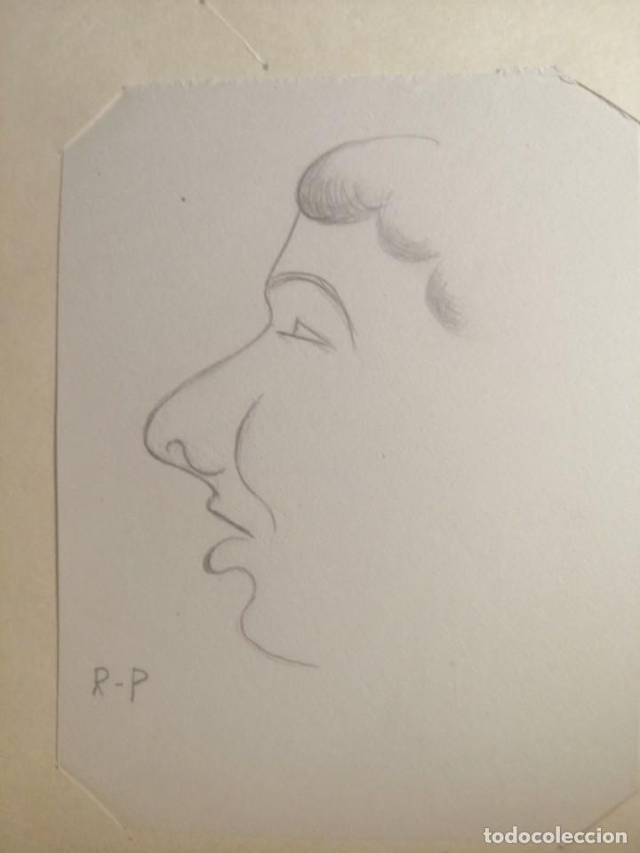 Arte: Coleccion 87 piezas del artista R.P y otras de otros pintores - Foto 11 - 195001520