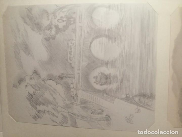 Arte: Coleccion 87 piezas del artista R.P y otras de otros pintores - Foto 59 - 195001520
