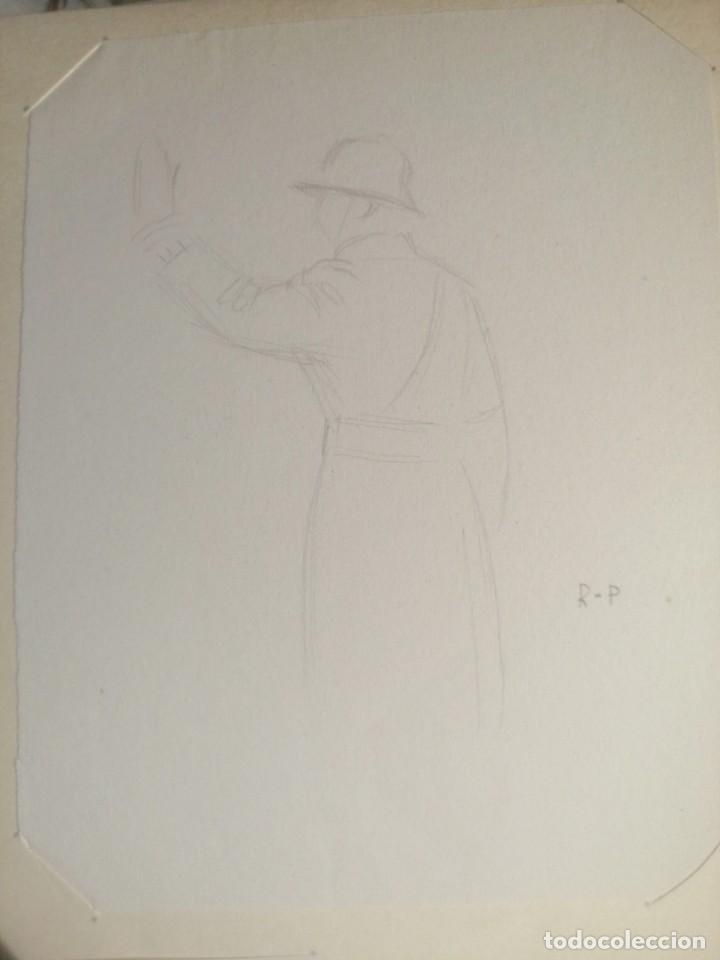 Arte: Coleccion 87 piezas del artista R.P y otras de otros pintores - Foto 82 - 195001520