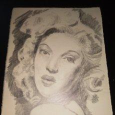 Arte: DIBUJO ANTIGUO. Lote 195161987