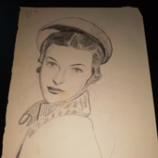 Arte: DIBUJO ANTIGUO. Lote 195162391
