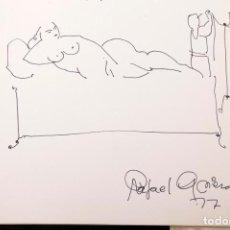 Arte: RAFAEL GRIERA - DIBUJO EN CATÁLOGO. Lote 195299101