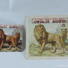 Arte: ACUARELA ORIGINAL DE LA PORTADA DEL CUENTO ANIMALES DAÑINOS 3, ILUSTRADOR LUIS PALAO, JUNTO CON EL C. Lote 195355805